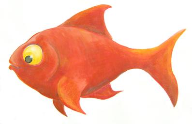 Petits et gros mensonges for Petit poisson rouge